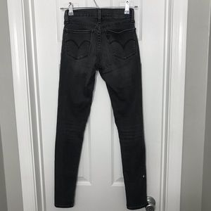 Levi's Jeans - Levi's Gray High Waisted Skinny Jeans